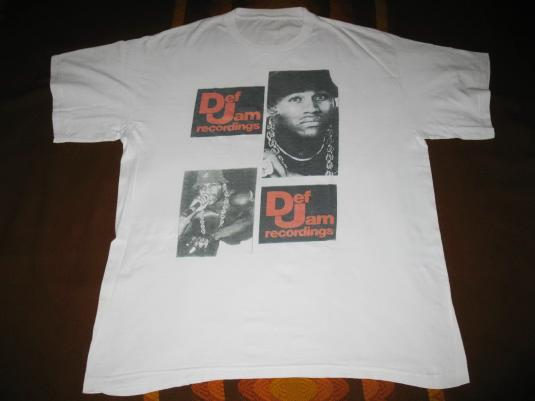 1989 LL COOL J WALKING WITH A PANTHER VINTAGE T-SHIRT HIPHOP
