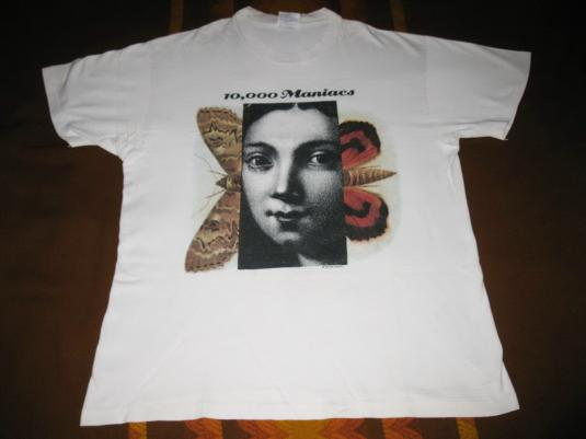 1992 10,000 MANIACS – THESE ARE DAYS VINTAGE T-SHIRT