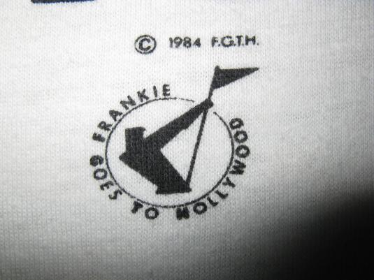 1984 FRANKIE GOES TO HOLLYWOOD RELAX VINTAGE T-SHIRT