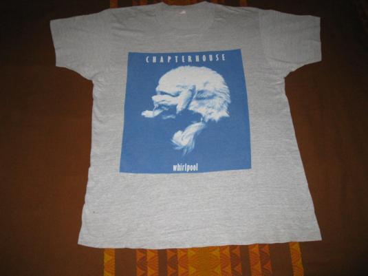 1991 CHAPTERHOUSE WHIRLPOOL VINTAGE T-SHIRT SHOEGAZE
