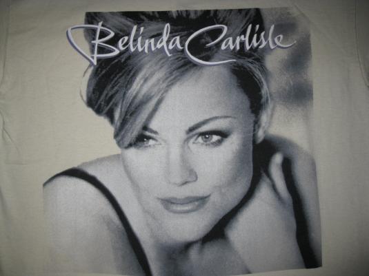 1996 BELINDA CARLISLE A WOMAN AND A MAN VINTAGE T-SHIRT