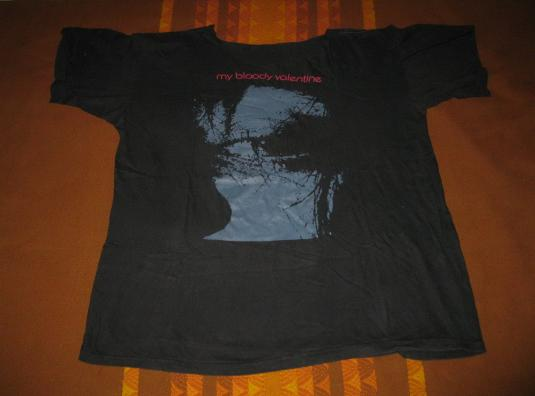 1989 MY BLOODY VALENTINE FEED ME VINTAGE T-SHIRT SHOEGAZE