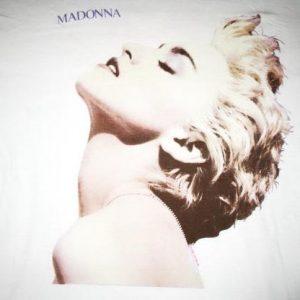 1986 MADONNA TRUE BLUE VINTAGE T-SHIRT
