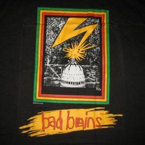 BAD BRAINS QUICKNESS VINTAGE T-SHIRT PUNK HARDCORE