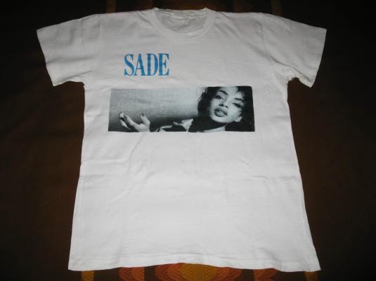 1984 SADE DIAMOND LIFE VINTAGE T-SHIRT