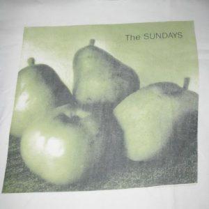 1993 THE SUNDAYS WORLD TOUR 93 VINTAGE T-SHIRT SHOEGAZE