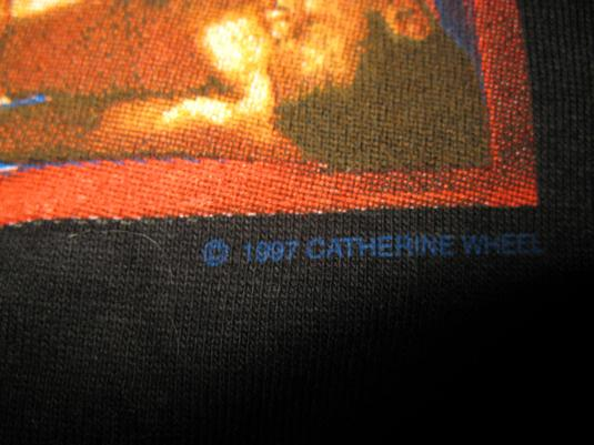 1997 CATHERINE WHEEL ADAM & EVE V.2 VINTAGE T-SHIRT SHOEGAZE