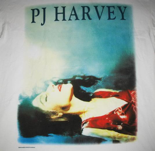 1995 PJ HARVEY TO BRING YOU MY LOVE VINTAGE T-SHIRT