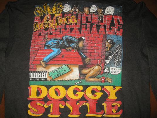 1993 SNOOP DOGG DOGGYSTYLE VINTAGE SWEAT SHIRT HOODIE