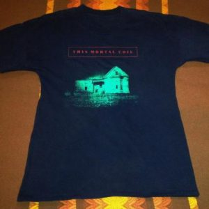 80s THIS MORTAL COIL SIXTEEN DAYS VINTAGE T-SHIRT