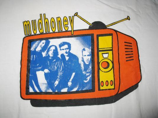1993 MUDHONEY TV BABIES VINTAGE T-SHIRT SUB POP GRUNGE