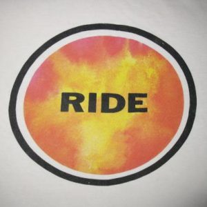 1991 RIDE TODAY FOREVER VINTAGE T-SHIRT SHOEGAZE