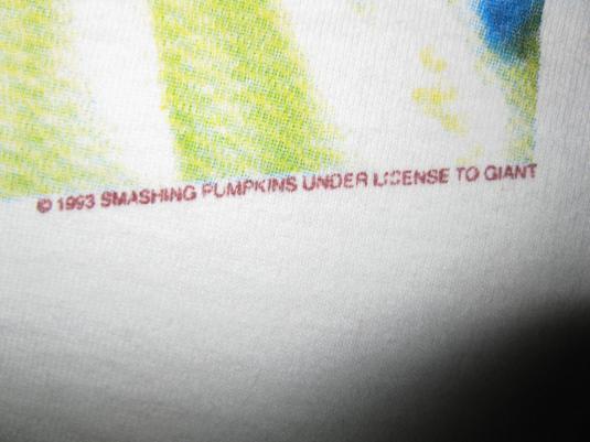 1993 SMASHING PUMPKINS SIAMESE DREAM VINTAGE T-SHIRT 90s