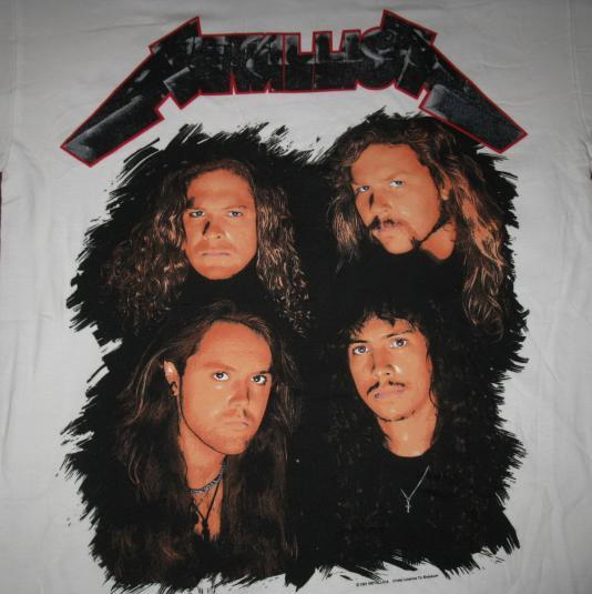 1993 METALLICA WHEREVER I MAY ROAM VINTAGE T-SHIRT TOUR