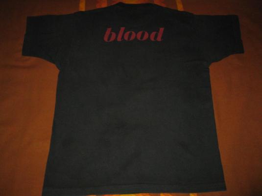 1991 THIS MORTAL COIL BLOOD VINTAGE T-SHIRT COCTEAU TWINS