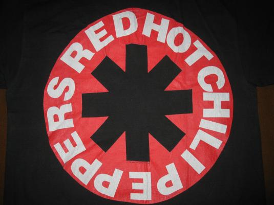 1990 RED HOT CHILI PEPPERS VINTAGE T-SHIRT 90S