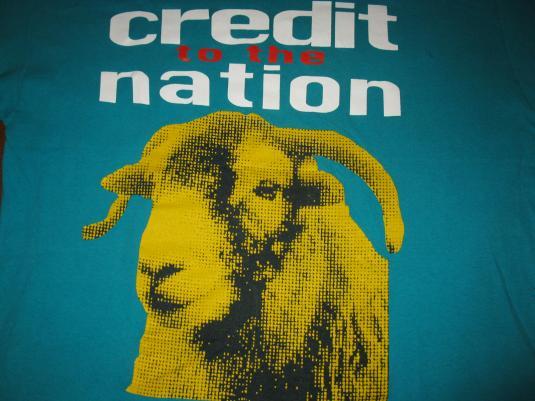 1994 CREDIT TO THE NATION TEENAGE SENSATION VINTAGE T-SHIRT