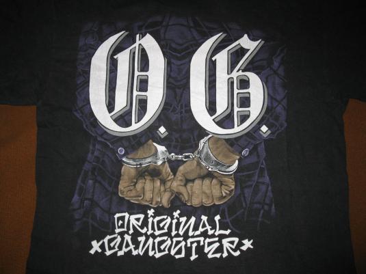 1992 ICE-T ORIGINAL GANGSTER VINTAGE TSHIRT RHYME SYNDICATE