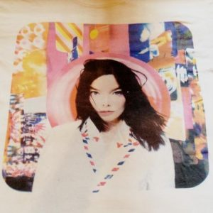 1995 BJORK POST VINTAGE T-SHIRT THE SUGARCUBES