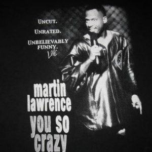 90s MARTIN LAWRENCE YOU SO CRAZY VINTAGE T-SHIRT