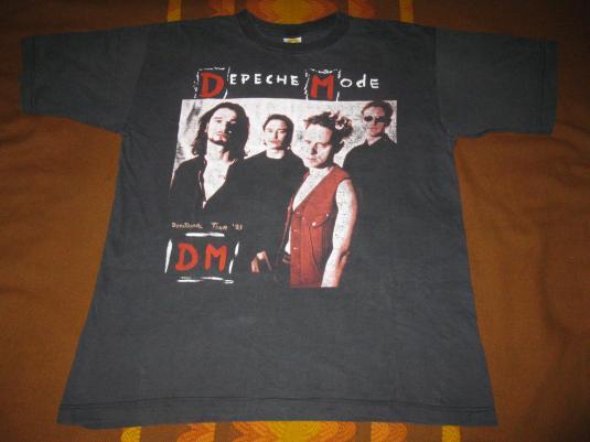 1993 DEPECHE MODE DEVOTIONAL EURO TOUR VINTAGE T-SHIRT