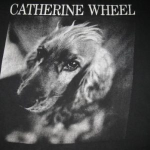 1992 CATHERINE WHEEL TOUCH YOU VINTAGE T-SHIRT SHOEGAZE