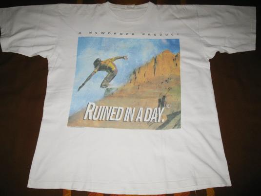 1993 NEW ORDER RUINED IN A DAY VINTAGE T-SHIRT JOY DIVISION