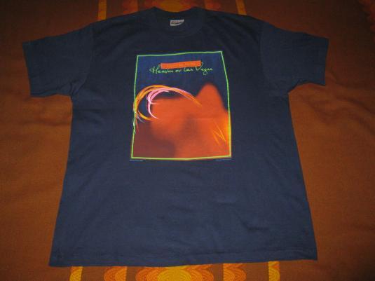 1990 COCTEAU TWINS HEAVEN OR LAS VEGAS 2 VINTAGE T-SHIRT 4AD