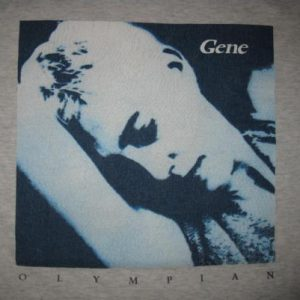 1995 GENE OLYMPIAN US TOUR VINTAGE T-SHIRT BRIT POP