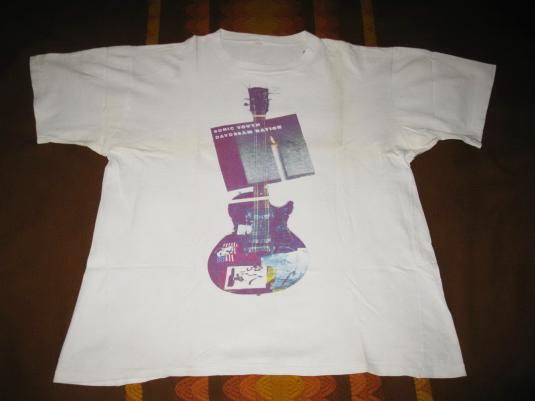 1989 SONIC YOUTH DAYDREAM NATION AUSSIE TOUR VINTAGE T-SHIRT