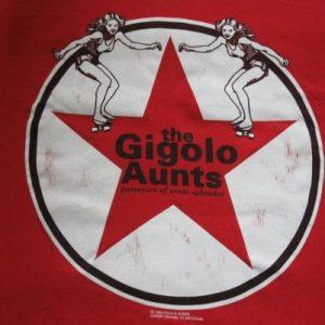 1994 GIGOLO AUNTS SONIC SPLENDORS VINTAGE T-SHIRT