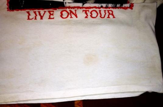 1992 SUGAR COPPER BLUE TOUR VINTAGE T-SHIRT HUSKER DU