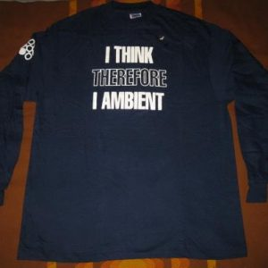 1992 THE IRRESISTABLE FORCE VINTAGE T-SHIRT AMBIENT