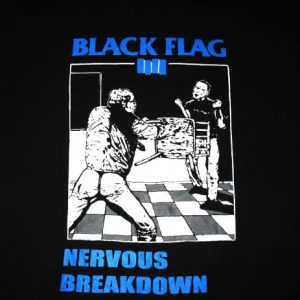 BLACK FLAG NERVOUS BREAKDOWN VINTAGE T-SHIRT