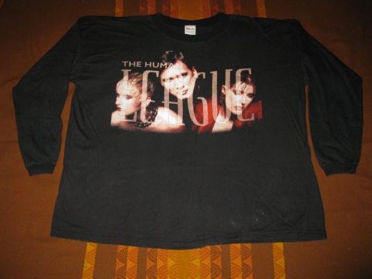 1995 HUMAN LEAGUE OCTOPUS TOUR VINTAGE T-SHIRT