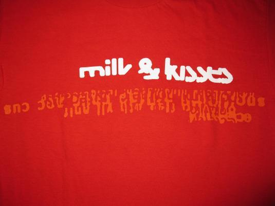 1996 COCTEAU TWINS MILK & KISSES VINTAGE GIRL T-SHIRT