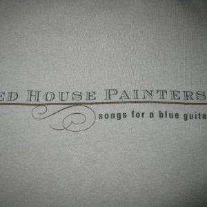 1996 RED HOUSE PAINTERS BLUE GUITAR VTG T-SHIRT SHOEGAZE 4AD