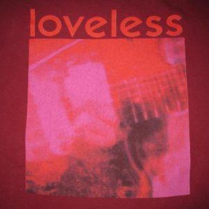 1991 MY BLOODY VALENTINE LOVELESS VINTAGE T-SHIRT SHOEGAZE