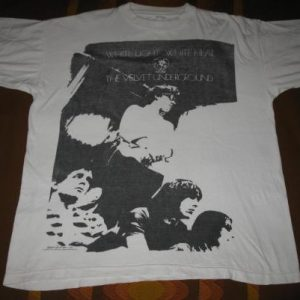 1988 THE VELVET UNDERGROUND WHITE LIGHT WHITE HEAT VTG SHIRT