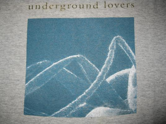 1992 UNDERGROUND LOVERS BLIND VINTAGE T-SHIRT SHOEGAZE