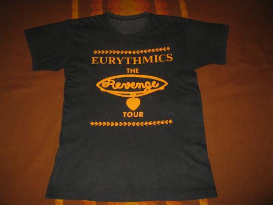 1987 EURYTHMICS REVENGE JAPAN TOUR VINTAGE T-SHIRT