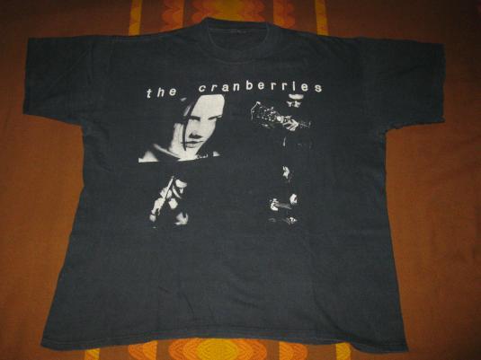 1992 THE CRANBERRIES DREAMS VINTAGE T-SHIRT