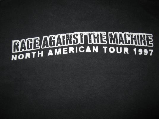 1997 RAGE AGAINST THE MACHINE BARBARA KRUGER VINTAGE SHIRT