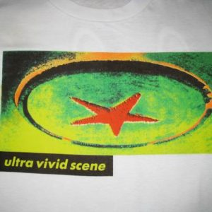 1990 ULTRA VIVID SCENE JOY VINTAGE T-SHIRT 4AD SHOEGAZE