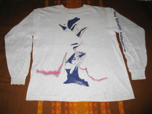 1990 MY BLOODY VALENTINE GLIDER VINTAGE LS T-SHIRT SHOEGAZE