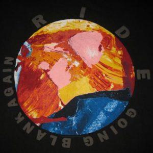1992 RIDE GOING BLANK AUSSIE TOUR VINTAGE T-SHIRT SHOEGAZE