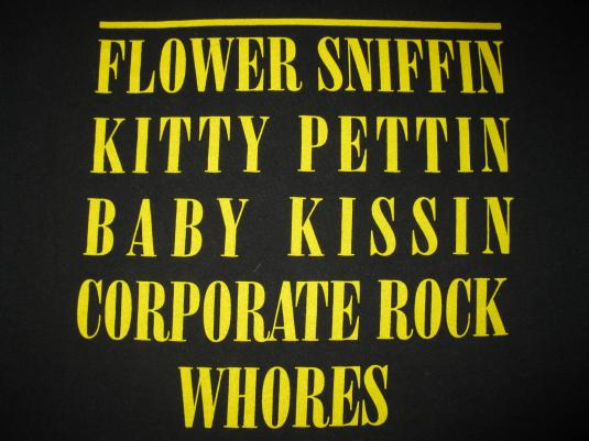 1992 NIRVANA READING 92 SMILEY VINTAGE T-SHIRT SEATTLE