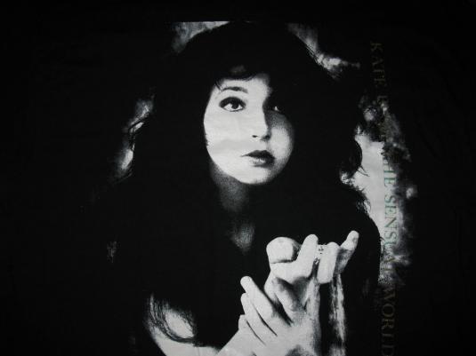 1989 KATE BUSH – THE SENSUAL WORLD – VINTAGE T-SHIRT