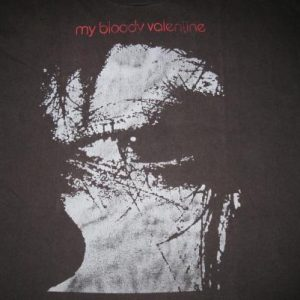 1989 MY BLOODY VALENTINE FEED ME VINTAGE T-SHIRT SHOEGAZE
