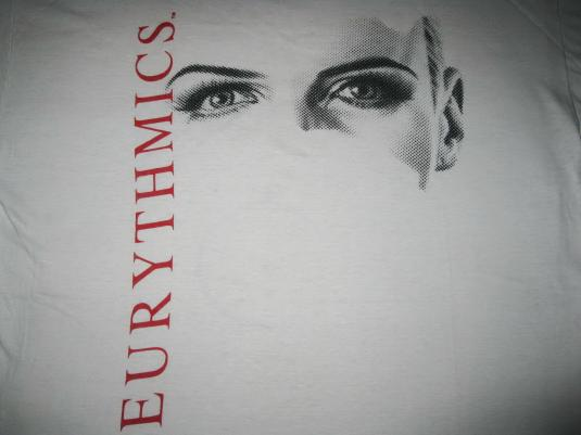 1986 EURYTHMICS – REVENGE TOUR – VINTAGE – T-SHIRT
